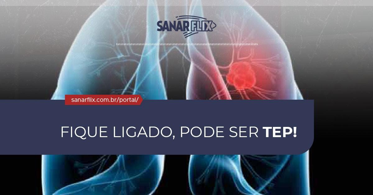 Pulmonar alta embolia causa pressão