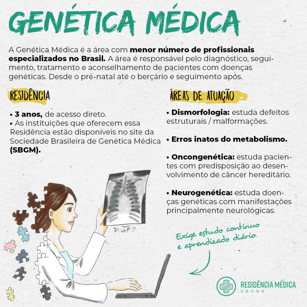 residência médica em genética médica