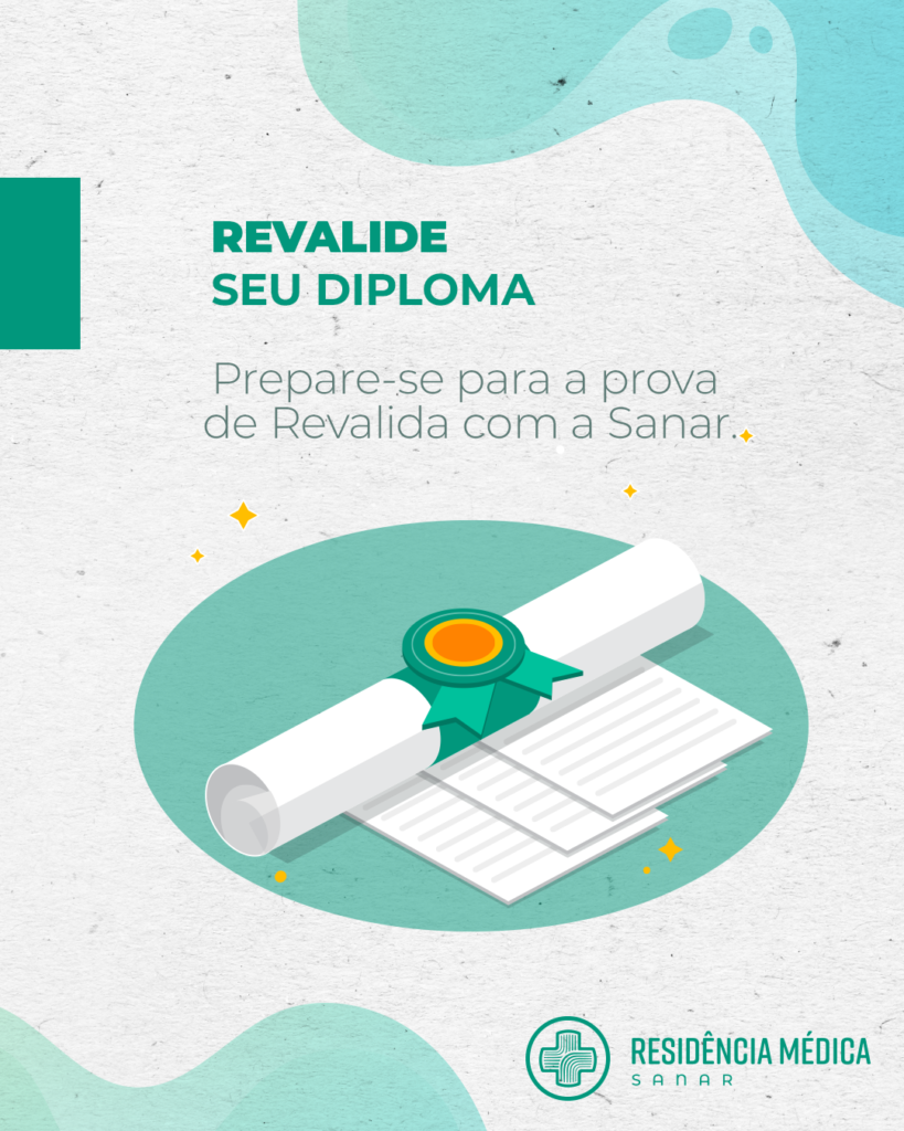 Revalida: revalide seu diploma e atue no Brasil