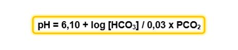 gasometria arterial fórmula de Henderson-Hasselbach