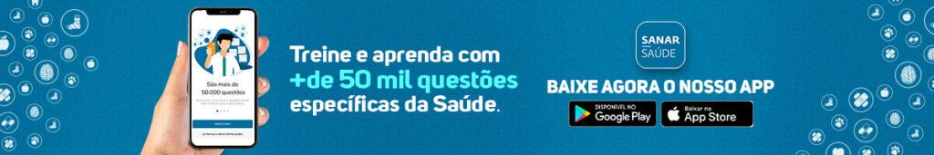 Responda questões com o novo app da Sanar Saúde!