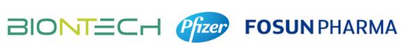 Vacina para covid-19 BionNTech Pfizer Fosun Pharma
