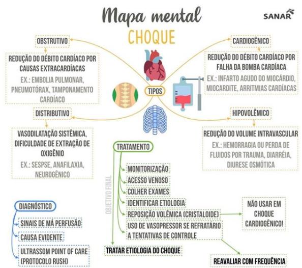 mapa mental medicina