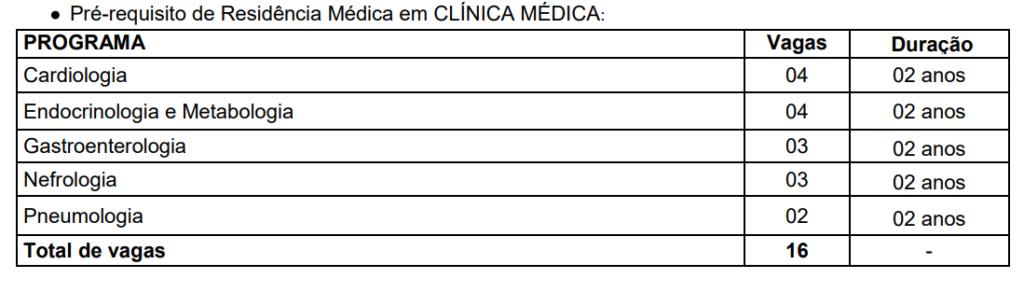 vagas de residência médica do HUUFMA
