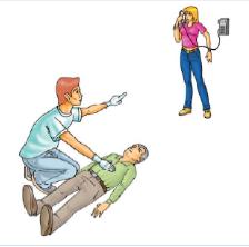 Ligar para o samu em caso de parada cardiorrespiratória